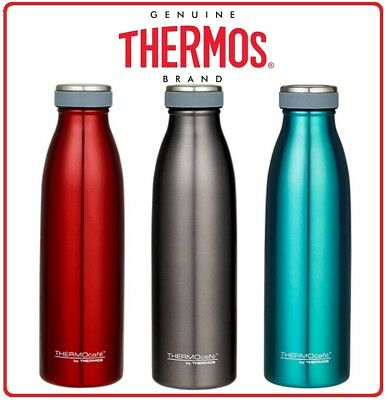 AU24.85 • Buy ❤ Thermos THERMOCAFE STAINLESS STEEL Vacuum Insulated Bottle Drink 500ml Flask ❤