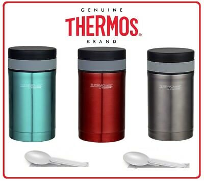 AU26.90 • Buy ❤ Thermos STAINLESS STEEL Vacuum Insulated Food Jar Container 500ml With Spoon ❤