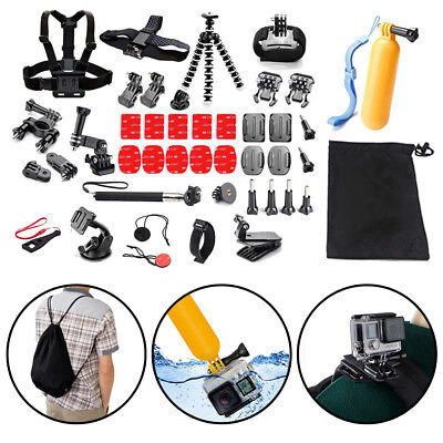 £13.79 • Buy 42X Action Camera Accessories For GoPro Hero Video Cam Strap Mount Tripod Set