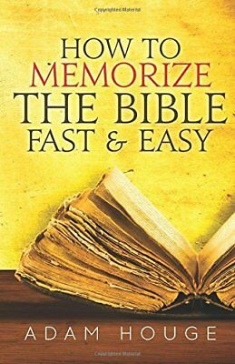 AU8.34 • Buy Adam Houge : NEW, How To Memorize The Bible Fast And Easy,February 2015