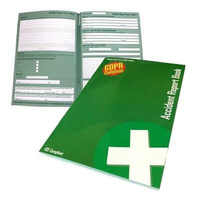 £7.49 • Buy Official A5 Accident Injury Report Book Complies With GDPR & HSE Data Protection