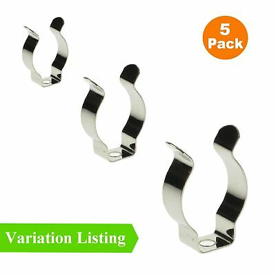 5 X Large Tool Spring Terry Clips, Narow Base Heavy Duty Tool Storage Hangers • 3.79£