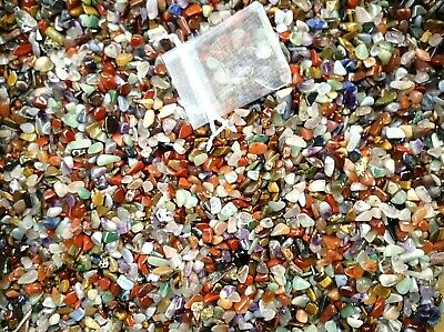 Crystals X Small (pea Size) 5-10mm Mixed Polished Crystals Chips 25g~1kg • 2.95£