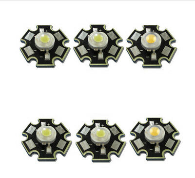 AU1.44 • Buy 10pcs Real Full Watt CREE 1W 3W High Power LED Lamp Bulb Diodes SMD 110-120LM LE