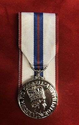 1977 Queen Elizabeth Silver Jubilee Medal Full Size Replacement • 19.99£