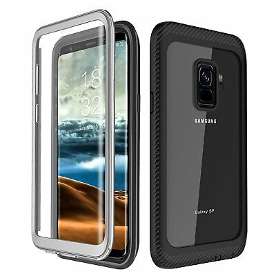 AU21.94 • Buy Samsung Galaxy S9 Plus Case Clear Screen Protector 360 Degree Protection Cover