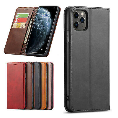 AU9.99 • Buy IPhone 12 Mini 11 Pro Max XS XR 8 7 6 Plus Luxury Leather Wallet Case Cover