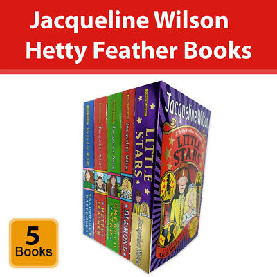 £14.96 • Buy Jacqueline Wilson Hetty Feather Series Collection 5 Books Set Childrens Pack NEW