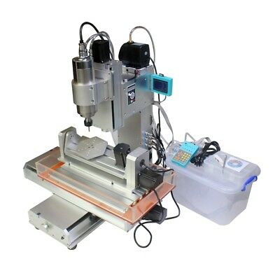 $ CDN3277.76 • Buy 5 Axis 2200W Spindle 5 Axis 3040 CNC Engraving Drilling Milling Machine Router
