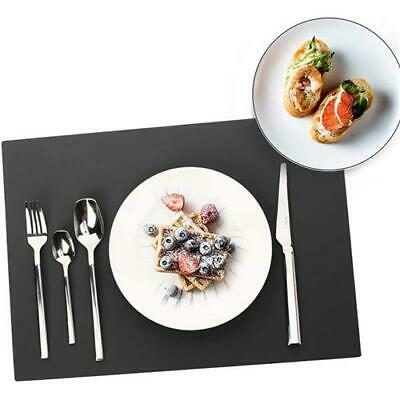 £5 • Buy Silicone Table Mat Black Heat Resistant Straightener Pad Table Mat Non Slip