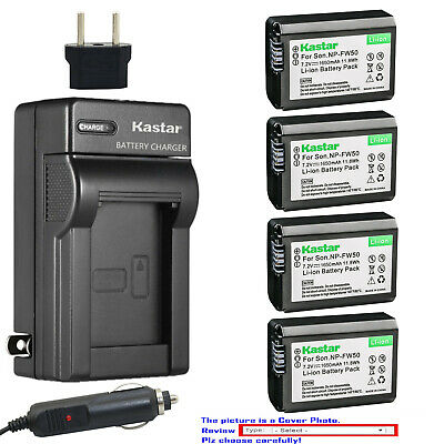 $ CDN33.98 • Buy Kastar Battery AC Travel Charger For Sony NP-FW50 BC-VW1 & ILCE-6000 Alpha A6000