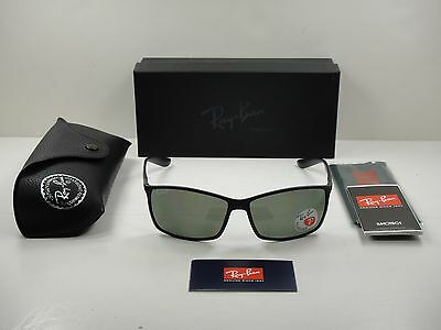 33decba29db Ray-ban Liteforce Tech Polarized Sunglasses Rb4179 601s9a Black green Lens  62mm • 170.95