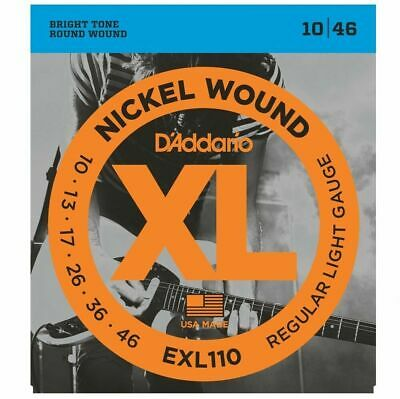$ CDN17.20 • Buy D'Addario EXL110  Electric Guitar Strings 10 - 46     -EOFY  Super Sale*