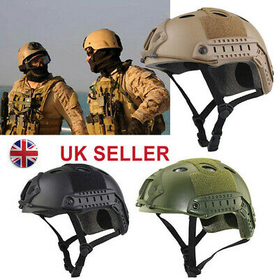 £22.79 • Buy Outdoor Airsoft Paintball Tactical Military Gear Combat Fast Helmet Cover Tools