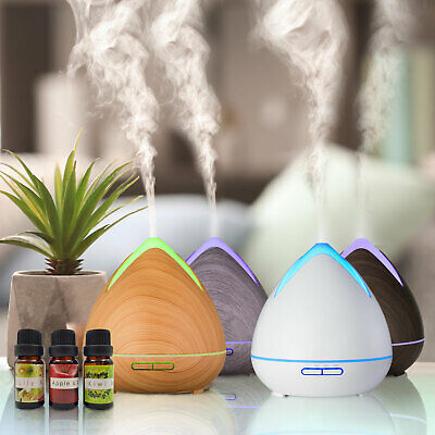AU44.95 • Buy Essential Oils Ultrasonic Aromatherapy Diffuser Air Humidifier Purify 400ML