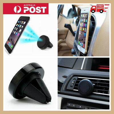 AU6.99 • Buy Universal Car Air Vent Mount Phone Holder Dock Magnetic Stand For Cell Phone GPS