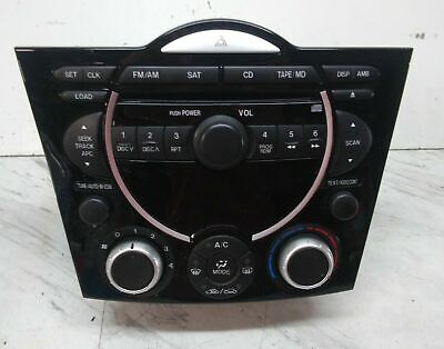 $219.96 • Buy 2005 2006 Mazda Rx8 Rx-8 6 Disc Cd Changer 9 Speaker Radio Fe05 66 Dsx 05 06 Oem