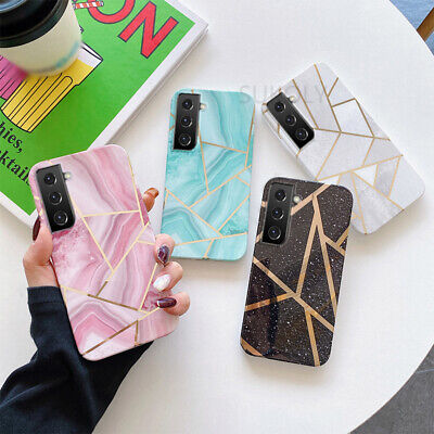 $ CDN4.25 • Buy For Samsung S20 Ultra Note 10 S10 S9 S8 Plus Glossy Marble Slim Hard Case Cover