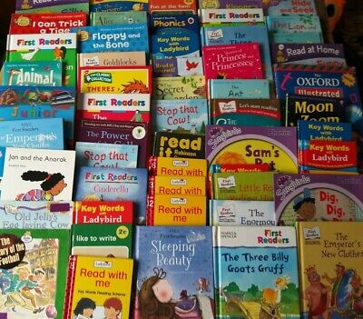 £24.99 • Buy Young Childrens Early Learning Reading Phonics Bundle X 25 Small/Med Used Books