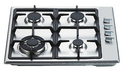 AU883.95 • Buy Everdure 4-BURNER GAS COOKTOP WITH WOK RING 60cm 240V Electronic Ignition