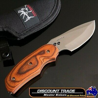 AU35 • Buy Full Tang Hunting Knife Fixed Blade 076 Outdoor Camping Survival AU Stock