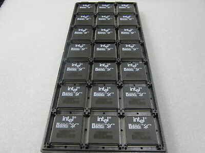 AU21.16 • Buy NEW Intel KU80486SX-25 INTEL SX788 NOS I486SX NOS