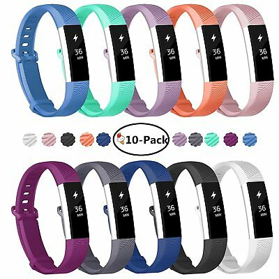 $ CDN124.92 • Buy Fitbit Alta HR Small S Heart Rate Fitness Wristband + 12 New Bands FREE SHIPPING