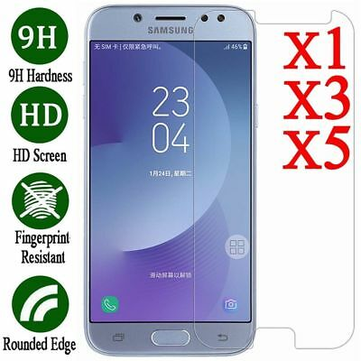 AU2.89 • Buy 5X Tempered Glass Screen Protector Film For Samsung Galaxy J3 J5 J7 Pro 2017 K6