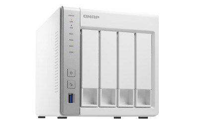 $ CDN520.20 • Buy QNAP TS-431 4-BAY Powerful Affordable NAS Cloud Storage Dual-Core CPU 1GB RAM