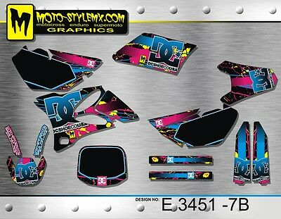 AU139.90 • Buy Moto StyleMX Yamaha Graphics Decals Kit YZ 85 2002 Up To 2014