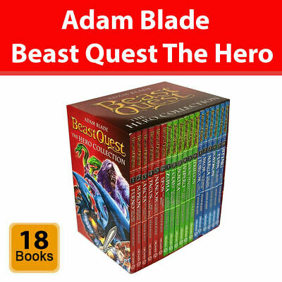 £25.28 • Buy Beast Quest Series 1, 2 And 3 Collection Adam Blade 18 Books Set Childrens Pack