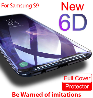 $ CDN2.44 • Buy 6D Screen Protector For Samsung Galaxy S8 S9 Plus Note 8 Best 9H Tempered Glass