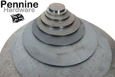 6.0mm Thick Disc ROUND Circle CR3 MILD STEEL Sheet Plate 25 - 500 Mm Ø UK Made  • 3.30£