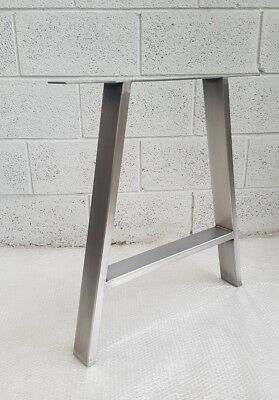 2x Table A Legs Metal Steel Rustic Industrial   The 'A'  Leg   Made In England • 120£