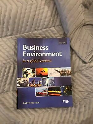 Business Environment In A Global Context • 6£