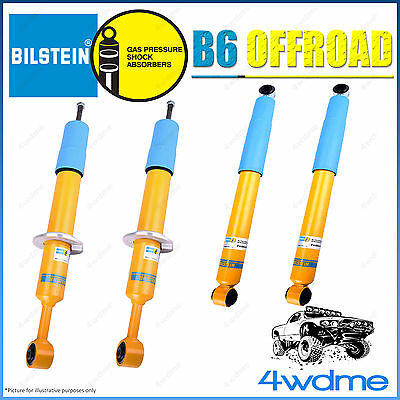 AU940 • Buy Fits Toyota Hilux N80 Bilstein B6 Offroad Monotube Front + Rear Shock Absorbers