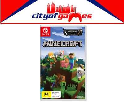 AU41.95 • Buy Minecraft Nintendo Switch Edition Game Brand New