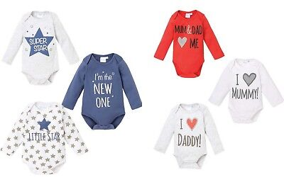 Baby Boys Girls Body Play Jump Suit Rompers Baby Grow Newborn -24 Months • 3.59£