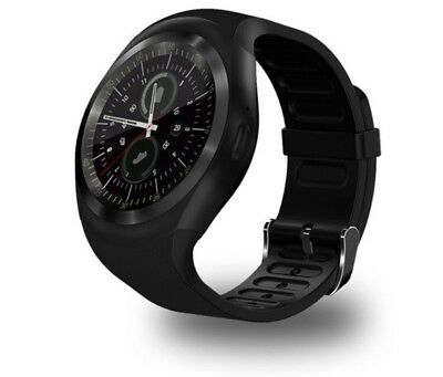 Waterproof Bluetooth Smart Watch Phone Mate For Android IOS IPhone Samsung LG Y1 • 20£