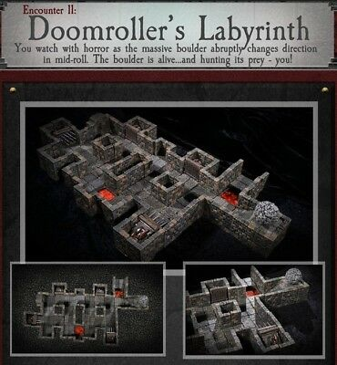 $ CDN341.69 • Buy Dwarven Forge PAINTED DOOMROLLER'S LABYRINTH Dungeons Of Doom W/Magnets D&D NEW