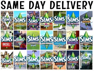The Sims 3 Origin Expansions  • 5.17£