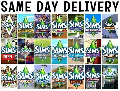 The Sims 3 Origin Expansions  • 13.87£