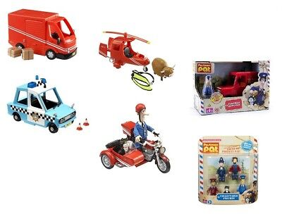 Postman Pat Small Vehicle / Figures Toy Playsets - SDS Van Helicopter Police Car • 10.99£