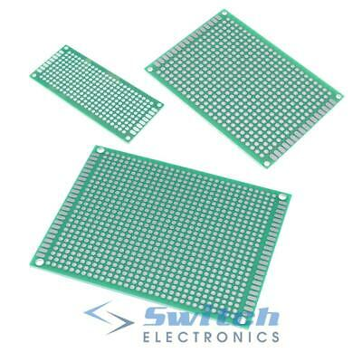 £2.79 • Buy Double Sided PCB Printed Circuit Board Breadboard Prototyping Strip Board