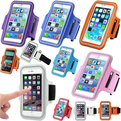 Gym Running Sports Jogging Armband Holder For Various Apple,Samsung Mobile Phone • 3.48£