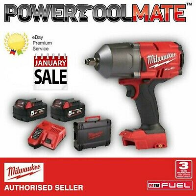 View Details Milwaukee M18FHIWF12-502X FUEL Gen2 1/2 Inch Impact Wrench Kit • 319.99£