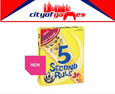 AU27.95 • Buy 5 Second Rule Junior Jr Board Game Brand New