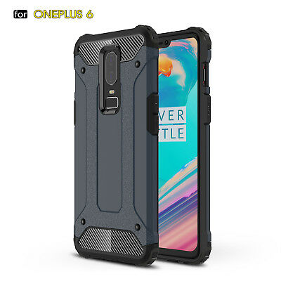 AU5.43 • Buy Shockproof Armor Hybrid Soft TPU+Hard PC Back Case Skin Cover For OnePlus 6 5T