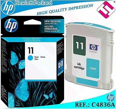 $76.46 • Buy Ink Cyan 11 Original Printers Hp Cartridge Black Hewlett Packard C4836a