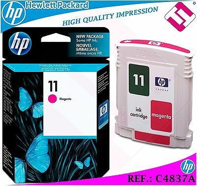 $76.46 • Buy Ink Magenta 11 Original Printers Hp Cartridge Black Hewlett Packard C4837a